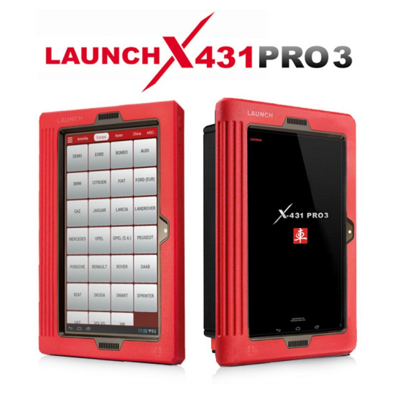 Launch X431 Pro 3 is a must-have vehicle troubleshooting device that offers accurate test results and enables remote diagnosis.