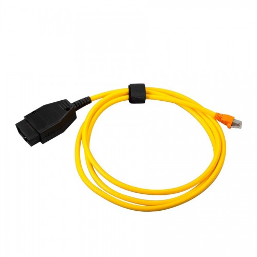 Interface Cable For BMW ENET (Ethernet to OBD) E-SYS ICOM Coding F-Series