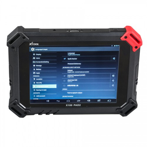 [Ship from UK NO TAX]XTOOL X-100 PAD 2 Special Functions Expert Update Version of X100 PAD
